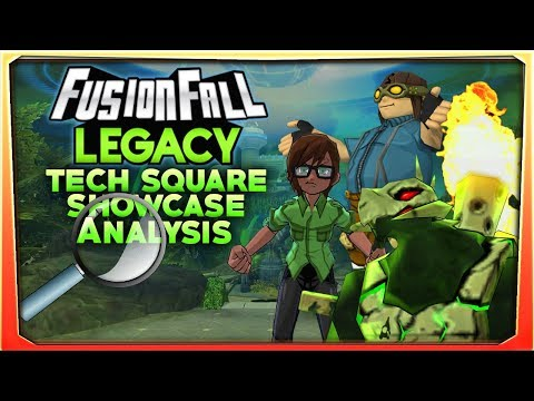 FusionFall Legacy Tech Square Showcase Magical Analysis