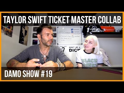 TAYLOR SWIFT TICKET MASTER COLLAB