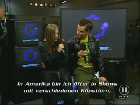Avril Lavigne The Dome in Germany Interview 2 2002