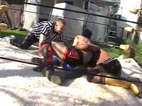 CWA Derby City Showdown 2008: Kamikaze & Kevin Porter vs. CJ Styles & Eruption (VIEW2)