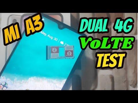 [Hindi] MI A3 Dual 4G VOLTE Test With 2 JIO Sim