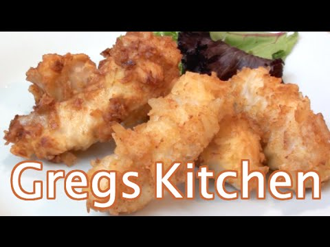 SALT AND VINEGAR FISH - How To Recipe  - Greg's Kitchen