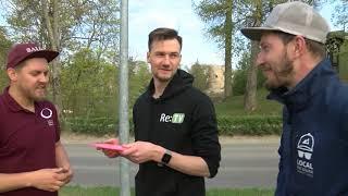 Vidzemes TV: Sporta tribīne. Disku golfs (09.05.2019.)