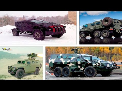 Russian armored military