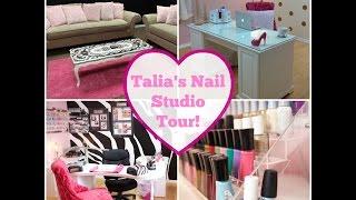 Nail Studio Tour!!