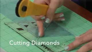 Pravítko na patchwork Sidekick Ruler video