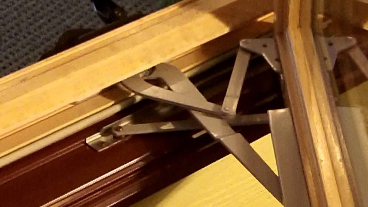 Hinge Adjustment On Sun Casement Window Mp4 Youtube