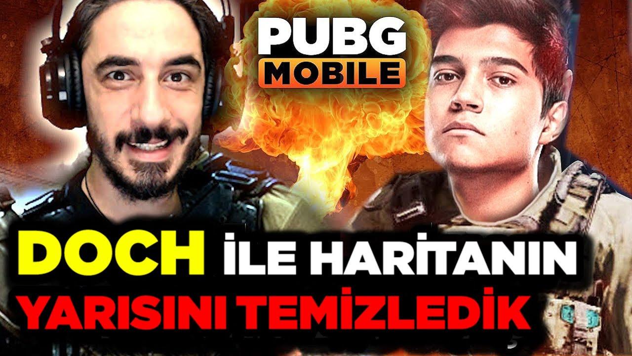 HARİTANIN YARISINI TEMİZLEDİK w/ DOCH - PUBG Mobile