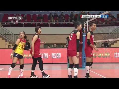 Jiangsu ECE vs Sichuan | 24 Dec 2016 | Chinese Women Volleyball League 2016/2017