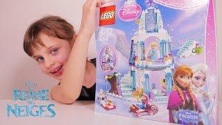 [LEGO FROZEN] Le Palais de glace d'Elsa Reine des Neiges Disney Princess - Unboxing Frozen Toy