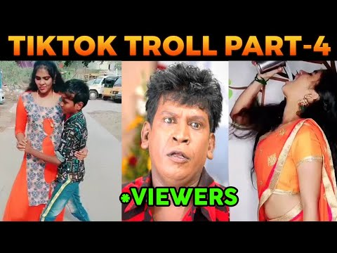 TIK TOK TROLL PART 4 | FUNNY TIKTOK TROLL VIDEO TAMIL | GIRLS | VIRAL TODAY | #TikTok