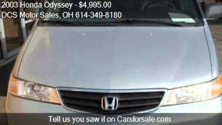 2003 Honda Odyssey for sale in Columbus, OH 43228 at the DCS