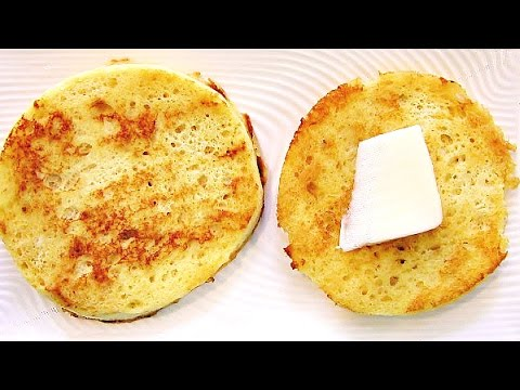Quick Paleo Low Carb English Muffins