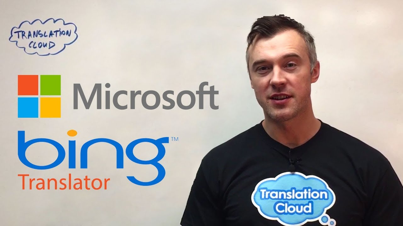 Bing Translator from Microsoft  The Best Machine Translator for your  Website?