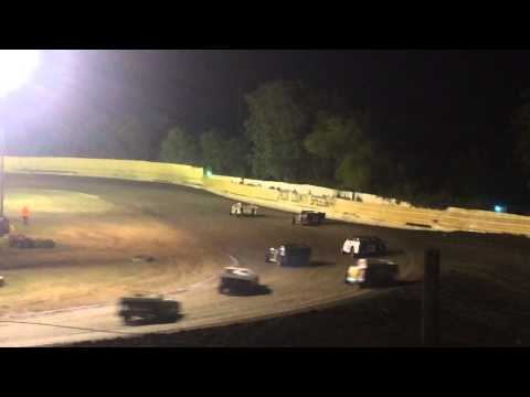 "Creek county Speedway 8/1/15 modified ""A"" feature"