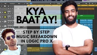 Kya Baat Ay | Music Breakdown | Hardy Sandhu | Music Production | Logic Pro X Tutorial