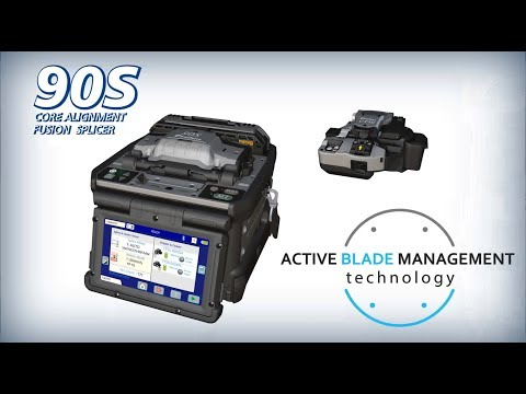 Fujikura 90S Core Alignment Fusion Splicer w/ Active Blade Management