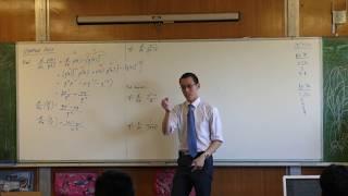 Quotient Rule (1 of 2: Derivation)