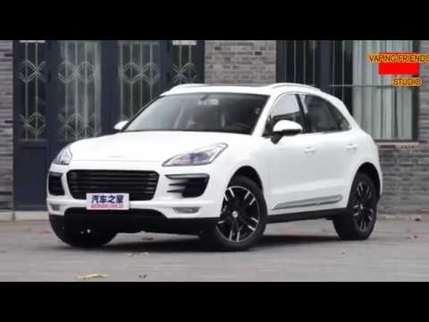 CHINESE MACAN 2017! ZOTYE SR9 ! THE NEW CHINESE AUTOMOTIVE INDUSTRY