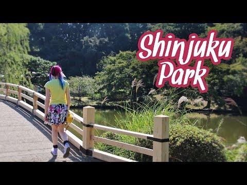 Shinjuku Gyoen & Japanese Bakery Treats - Tokyo Vlog