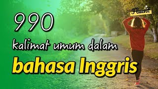 Download lagu 990 kalimat umum dalam bahasa Inggris