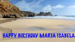 MariaIsabela   Beaches Playas - Happy Birthday
