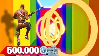 You'll get 100,000 V-Bucks if you win the DEATH DROPPER! (Fortnite)