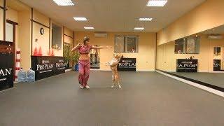 Cute Pitbull Dance for Bollywood Music