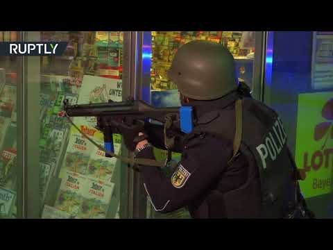 'Nightmarish pictures': Munich Central Station on lockdown for realistic terrorism drills