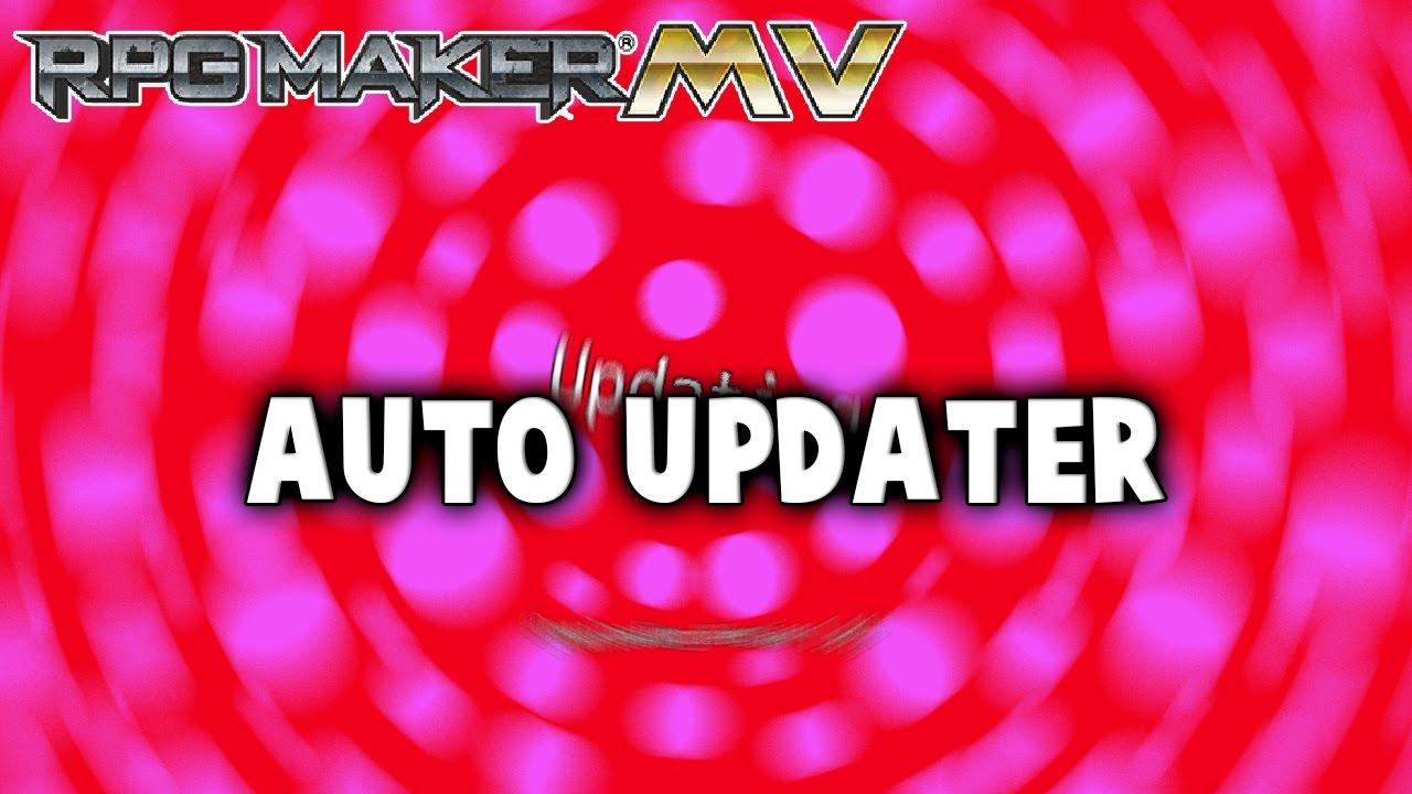 Auto Updater Plugin – MV Plugin – RPG Maker MV Plugins