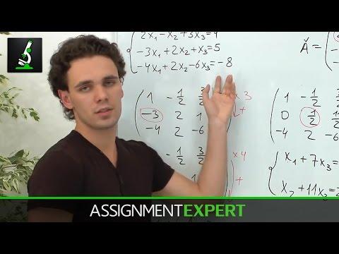 Gauss Elimination Method (Example 2)