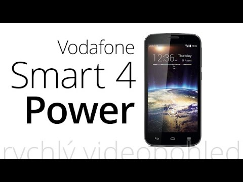 Vodafone Smart 4 Power (rychlý videopohled)