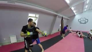 Тренировка на лапах в Красноярске. Смешанные единоборства. MMA. Бойцовский клуб IMPERIA TEAM
