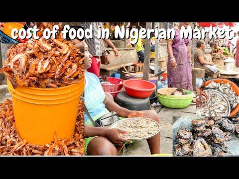 Port Harcourt seafood market | UNEDITED MARKET VLOG | cost of food in NIGERIA | SisiYemmieTV