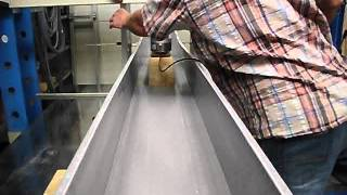 Arcosystem -trough Test - Bending Test For Pre-selection Testing For Elevated Cable Troughing