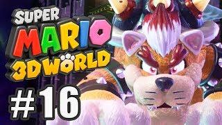 Endkampf gegen Meow-ser! | #16 | Super Mario 3D World