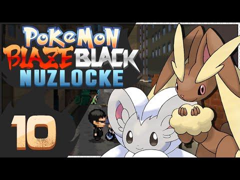 Pokémon Blaze Black Nuzlocke - Episode 10 | LIT City!