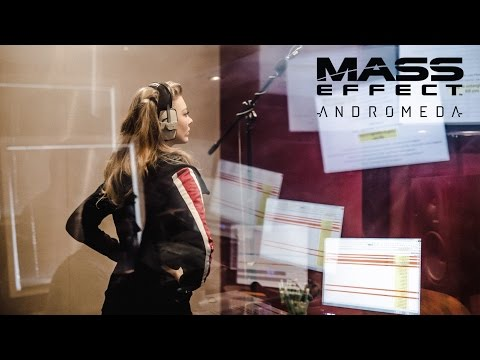 MASS EFFECT: ANDROMEDA – Voicing Dr Lexi T'Perro