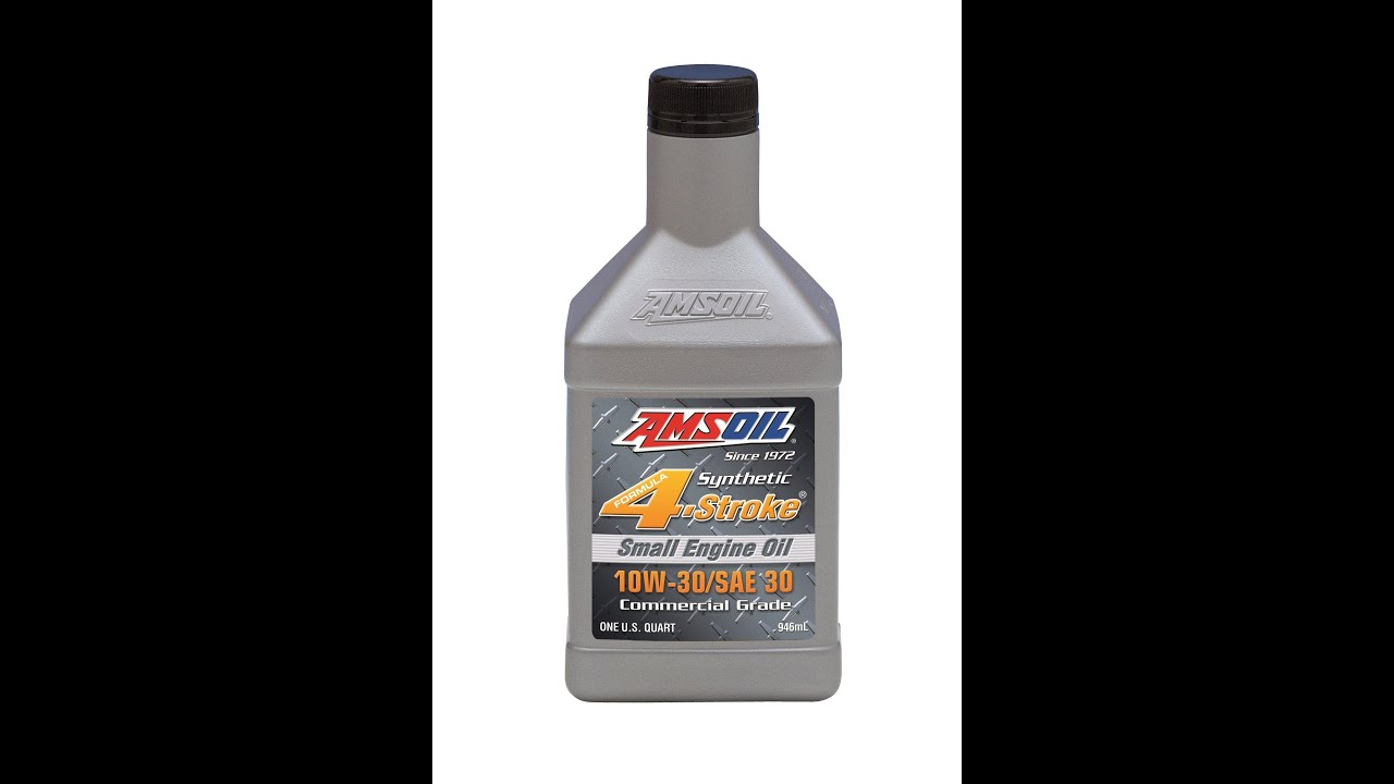 Amsoil Ase 10w 30 Sae 30 4 Stroke Small Engine Synthetic