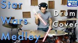 Star Wars Medley - Drum Cover | Drum Beats Online