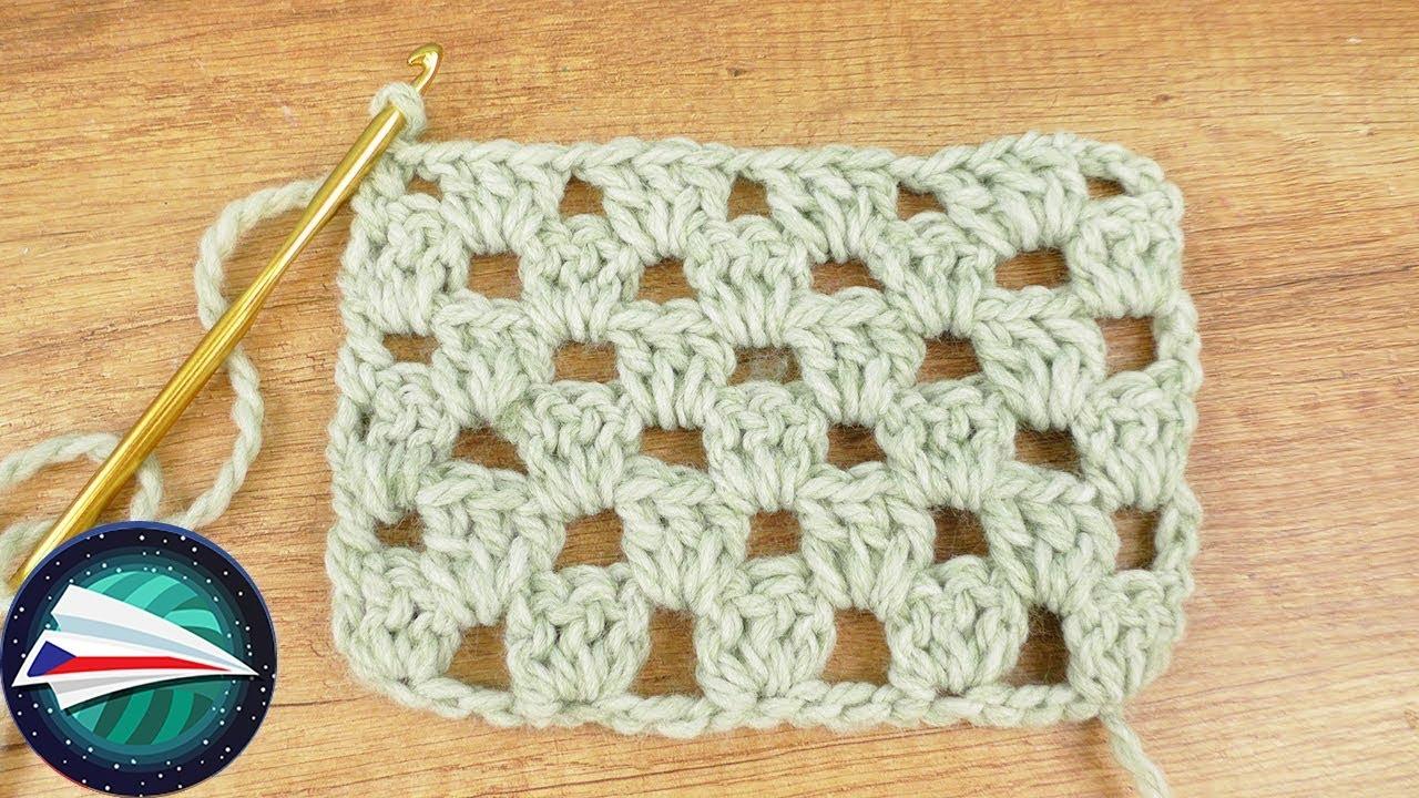 26e010849 Háčkování | Granny Style na šály a deky | Jednoduchý návod - YouTube