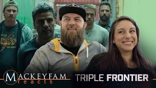 Triple Frontier | Official Trailer | Netflix- REACTION and REVIEW!