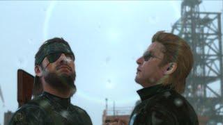 The rain cutscene Peace Walker Kaz and Big Boss version |Metal Gear Solid V The Phantom Pain PC