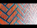 Brick wall painting design ideas cool and easy method