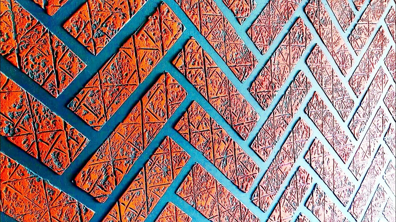 Brick wall painting ideas cool and easy method - YouTube on Brick Painting Ideas  id=70479