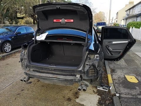 2006 Audi A4 Rear Bumper Removal - Car Audi