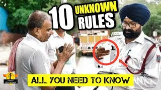 New Traffic Rules - A Secret Nobody will Tell You 2019