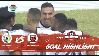 PSS Sleman (2) vs Madura United (2) - Goal Highlight | Shopee Liga 1