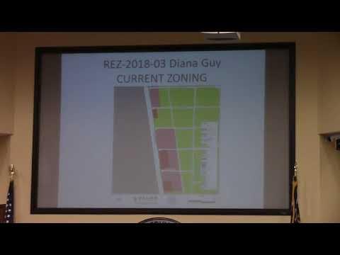 6c. REZ-2018-03 Diana Guy, 2497 Madison HWY, C-G to C-G and C-H,  4.04 acres