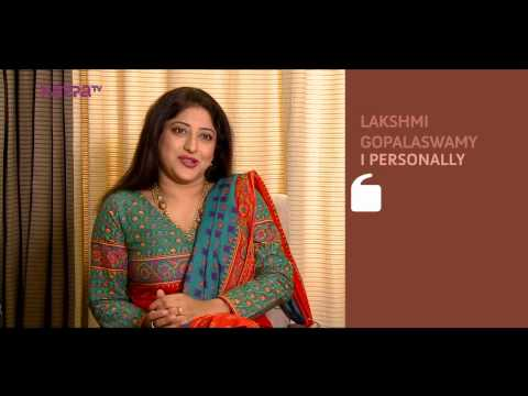 I Personally - Lakshmi Gopalaswamy - Part 1 - Kappa TV